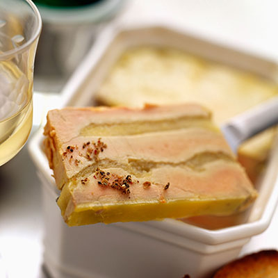 Terrines de foies gras